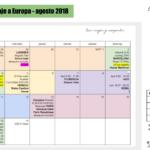 organizacion viaje a Europa