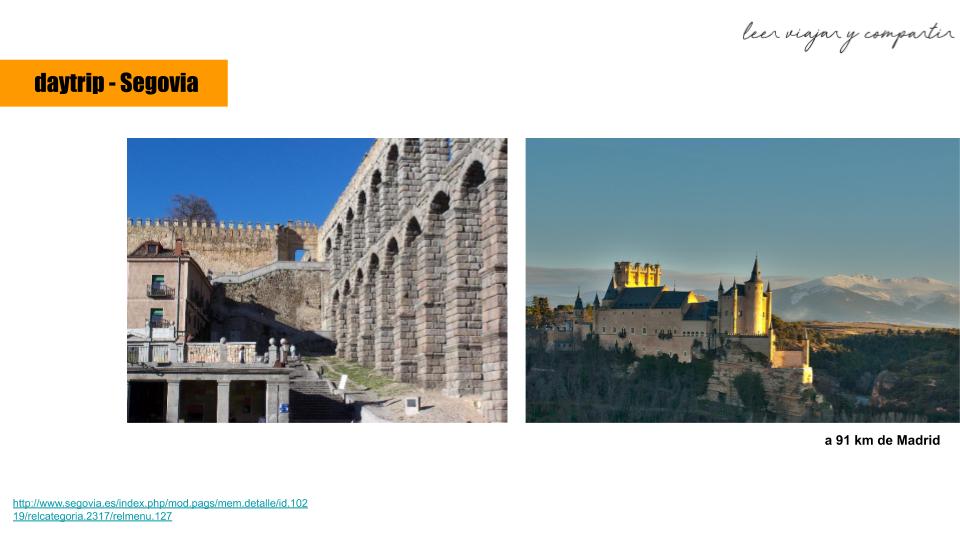 Segovia - Escapada cerca de Madrid