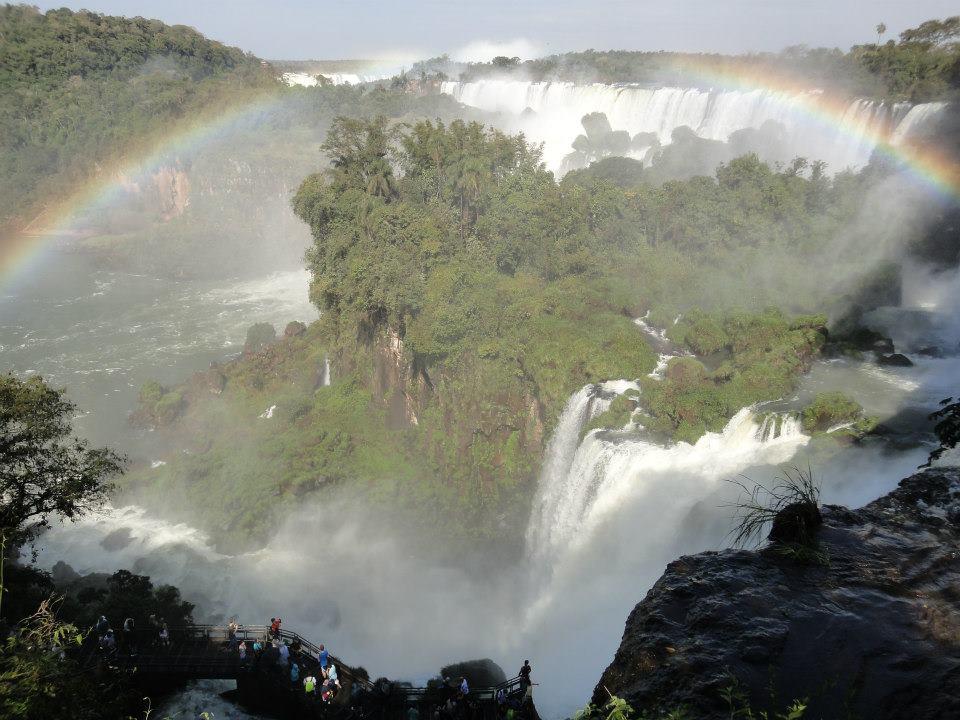 Cataras del Iguazú Argentina y Brasil