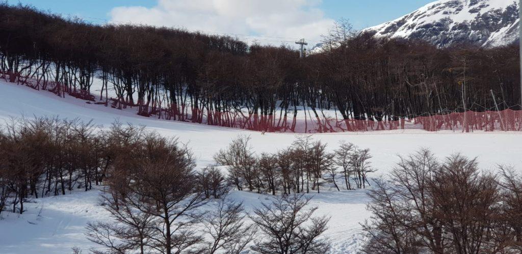 Esquiar en el Cerro Castor
